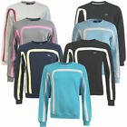 Fila Crew Neck Womens Sweatshirts Fleece Pullovers Jumpers