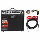 Peavey Vypyr VIP 1 20 Watt 1x8 Combo Practice Guitar Amplifier+Instrument Cable