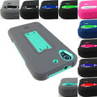 FOR HTC DESIRE 626 626s RUGGED IMPACT KICKSTAND CASE ARMOR COVER+STYLUS
