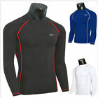 Mens Rash Guard Swimsuit Compression Base Layer Fitness Gym Workout Tight Shirts