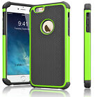 Rugged Rubber Hard Shockproof Cover Case for iPhone 7 6 6s 4.7