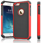 "Rugged Rubber Hard Shockproof Cover Case for iPhone 8 7 6 6s 4.7"" / 5.5"" Plus"