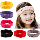 Baby Girls Toddler Kids Headbands Knots Hair Bow Kerchief Band Accessories