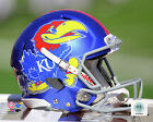 Kansas Jayhawks NCAA Football Licensed Fine Art Prints (Select Photo & Size)