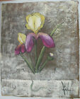 FLOWER ART 30 IMAGES 2 CHOOSE FROM 2 OIL PAINTING ROLLED OR STRETCHED 20X24""