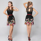 Ever Pretty Floral Printed Empire Line Casual Cocktail Party Dress 03662