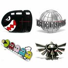 BBUM0206 ARCADE VIDEO GAME GHOSTS WORLDS IS YOURS BULLET BILL ALLOY BELT BUCKLE