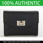 [Fromb ] Korea Ladies Purse Trifold Garden Middle Wallet  M736M-Black