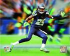 Richard Sherman Seattle Seahawks NFL Motion Blast Photo RL224 (Select Size)