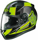 HJC 2015 Adult Striker CL-17 MC3 Street Motorcycle Helmet Black/Hi-Viz XS-3XL