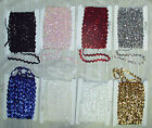 2 Row ZigZag Sequin Trim~Gold,Silver,White,Red,Pink~36 Yard Bolt