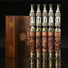 New 1300mah Smoking Pipe Wood Carving Hookah V2 Vaporizer Pen Vape E Pen HC1840