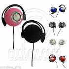 3.5mm Clips Soft Pad Foam Sports Jogging Earphones Headphones for Apple iPod MP3