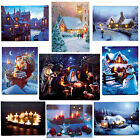 Christmas  LED Light up Canvas Picture