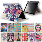 Hot Printed Patterned Folio Stand Leather Case Cover For iPad 2/3/4/5 iPad mini
