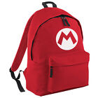 Mario Backpack - Super Retro Gamers Inspired Fashion Unisex School College Bag