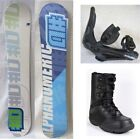 NEW ALPHANUMERIC SNOWBOARD/BINDINGS/BOOTS - 150cm