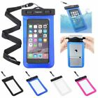 7 mobile phone - Waterproof Bag Underwater Pouch Dry Case Cover For iPhone Cell Phone Samsung