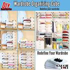 DIY Wardrobe Space Organizer Cube Cabinet Storage Shelves Shoe Rack Toy Book