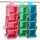 10 Pocket Organizer Storage Wardrobe Hanging Hand Bags Clothes Holder Rack