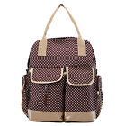 Womens Mummy Mother Nappy Backpack Child Baby Changing Diaper Bag Handbag Tote