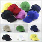 BNWT POLO by Ralph Lauren Pony Baseball Golf Cap Hat One Size Unisex Adjustable