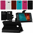 Flip Leather Wallet Protective Cover Stand Case For Vodafone Smart first 6 V695