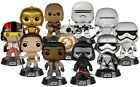 Star Wars Episode 7 The Force Awakens Pop! Finn Stormtrooper Han Solo Leia NEW