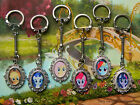 MY LITTLE PONY CHARM KEYRING RAINBOW DASH PINKIE PIE RARITY TWILIGHT FLUTTERSHY