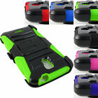 FOR ALCATEL ONE TOUCH ONETOUCH PHONES RUGGED ARMORED CASE COVER+HOLSTER+STYLUS