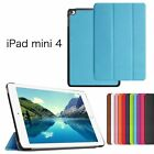 "New Ultra Slim Smart PU Leather Case Cover For 7.9"" iPad Mini 4 Tablet"
