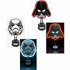 Star Wars: Shaped Neon Table Light New & Official Boxed Darth Vader Stormtrooper