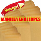 C4 DL C5 PLAIN MANILLA Self Seal Envelopes 5 10 50 20 50 100 250 500 1000