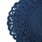 """Navy Turquoise Teal BLUE PAPER Lace DOILIES    4"""" 6"""" 8"""" 10"""" 12""""    LOW SHIPPING"""