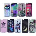 For iPhone Sony LG Acer Multi-Color Painted Hard Tough Rigid Plastic Case Cover