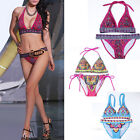 SEXY Women Print Bikini SET Push-up Padded Bra Swimsuit Bathing Suit Swimwear