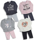 Baby Girls Outfit Two Piece Leggings and  Long Sleeve Top Four Styles