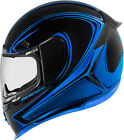 Icon Blue Airframe Pro Halo Motorcycle Street Helmet