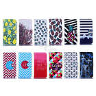 For Samsung Phones Well-Designed Synthetic Leather Vogue Card Pocket Case Cover