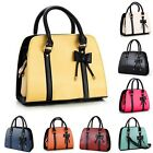 New Female Bowknot Handbag Hot Lady Purse Zipper Tote Messenger Shoulder Bag