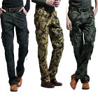 Tactic Military Men Casual Trousers New Work Pants Army Camo Cotton Cargo 7 Size