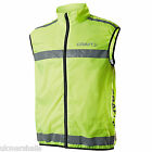 Craft Active Run Walk Jog Hi Visability High Viz Safety Vest Cycling - CT023