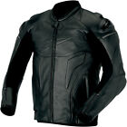 Alpinestars Phantom Leather Motorcycle Riding Jacket Black Mens All Sizes