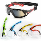 Bolle RUSH+ Safety Glasses / Goggles Smoke/Clear Lens UV Eye Protection FOG-FREE