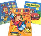 A6 Colouring/Puzzle/Dot-To-Dot Book Boy Girl Party Loot Bag Stocking Filler