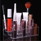 Clear Acrylic 24 Lipstick Holder Stand Display Cosmetic Makeup Organizer Case