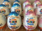 Kinder Surprise 2015 Christmas 100g Rare Maxi Eggs Kids Boy Girls Toys BRAND NEW