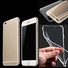 New Transparent Clear Crystal Soft TPU Silicone Cover Case For iphone 6/6s/ plus