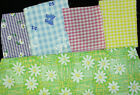 "Cotton Blend Checked Fabric 45"" Wide~Sold by the Yard~~New~Kids Prints"