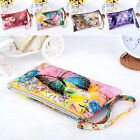 CHIC New Womens Leather Coin Case Card Holder Phone Bag Zip Clutch Wallet Purse